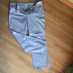Women's New York & Company Cotton Stretch Pants